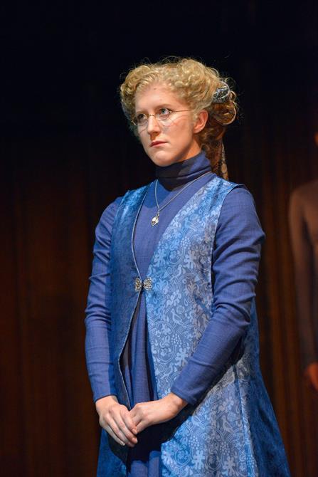 Leigh Quinn as Alice in Henry V.