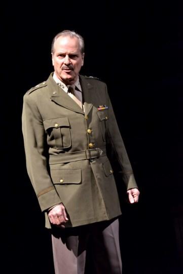 A man in a military uniform.