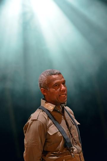 Hugh Quarshie as Othello in Othello 2015