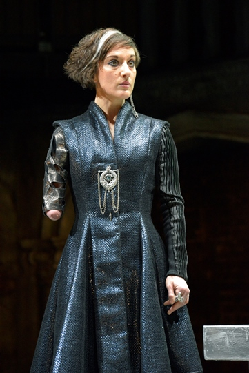 Nadia Albina as Duke of Venice in Othello 2015