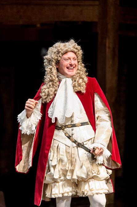 Hywel Morgan as Prince George of Denmark in Queen Anne