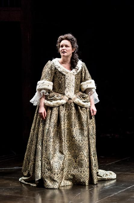 Emma Cunniffe as Queen Anne in Queen Anne