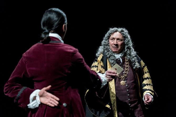 Richard Hope as Sydney Godolphin in Queen Anne