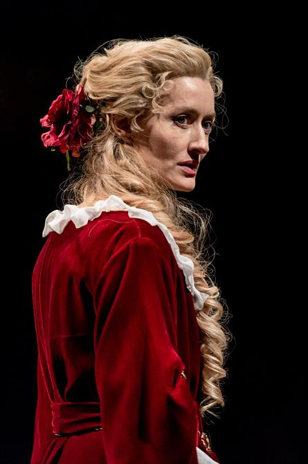 Natascha McElhone as Sarah Churchill in Queen Anne