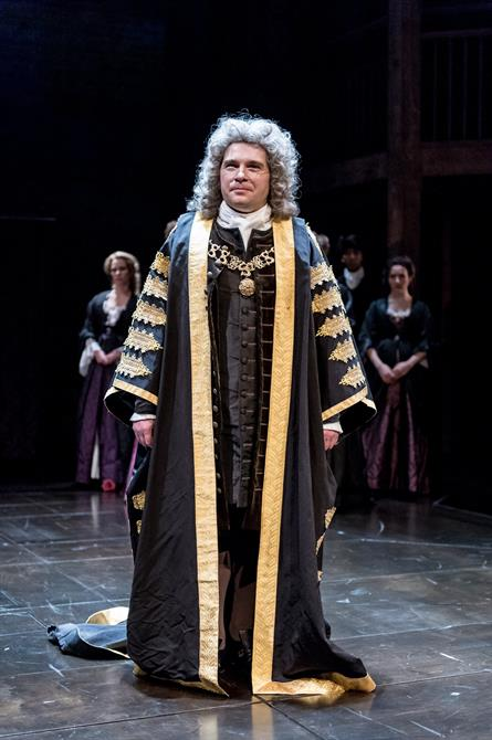 Jonathan Broadbent as Robert Harley in Queen Anne
