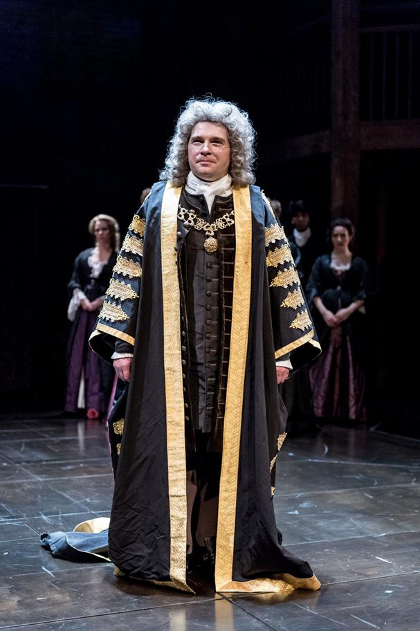 Jonathan Broadbent as Robert Harley in Queen Anne