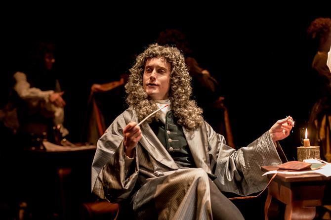 Tom Turner as Jonathan Swift in Queen Anne