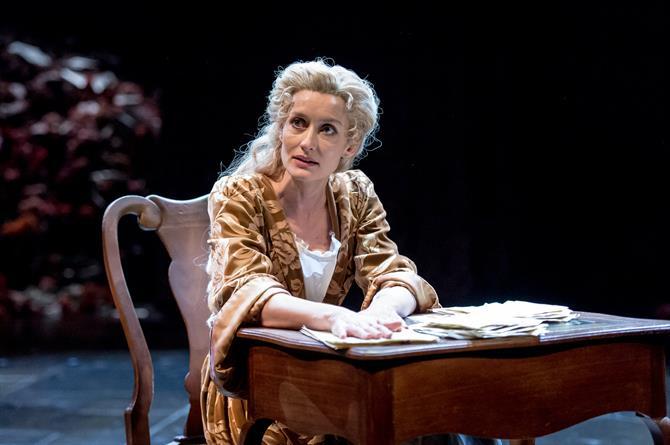 Natascha McElhone as Sarah Churchill in Queen Anne