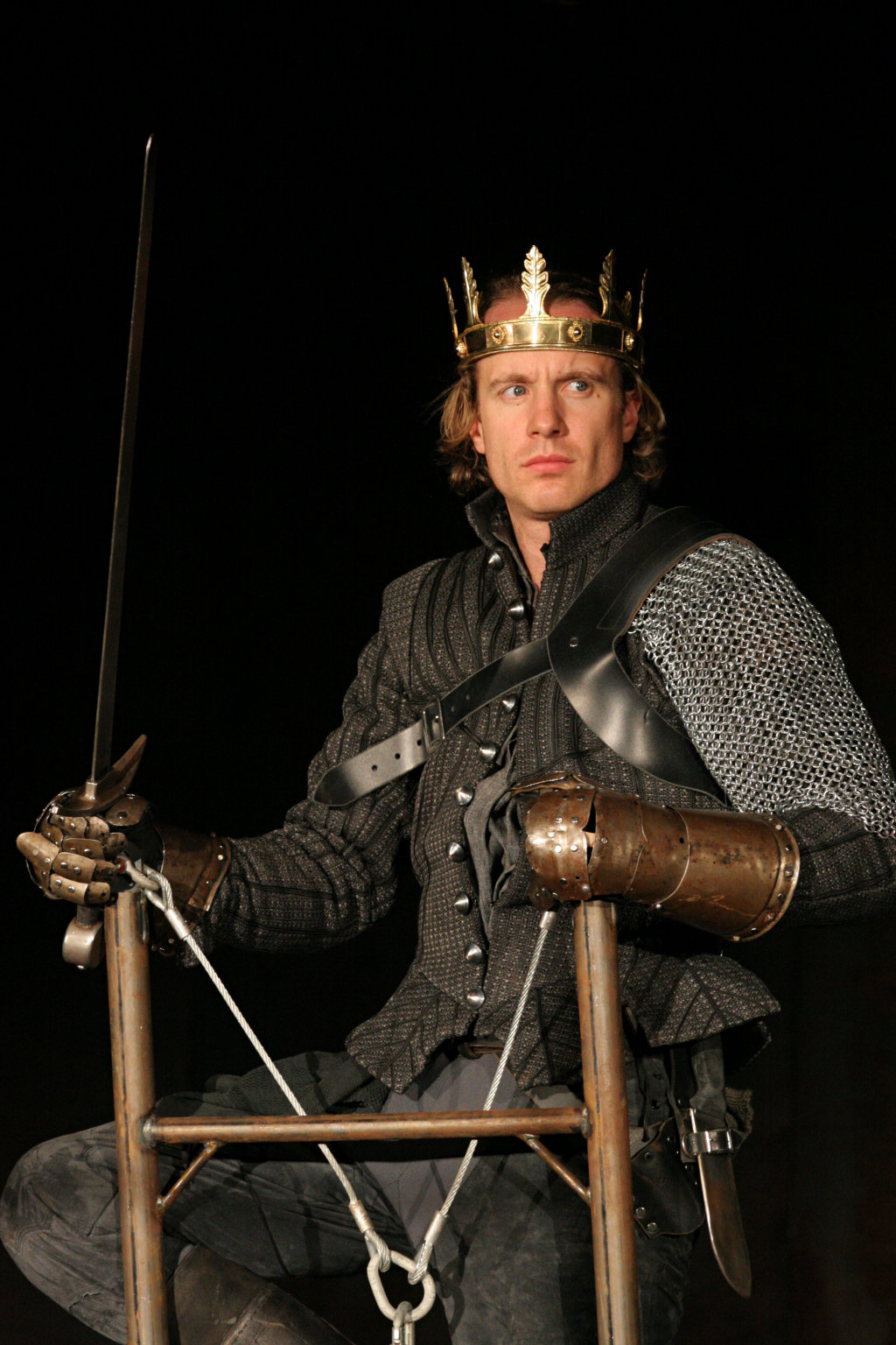 Henry V in the 2007 production of Henry V