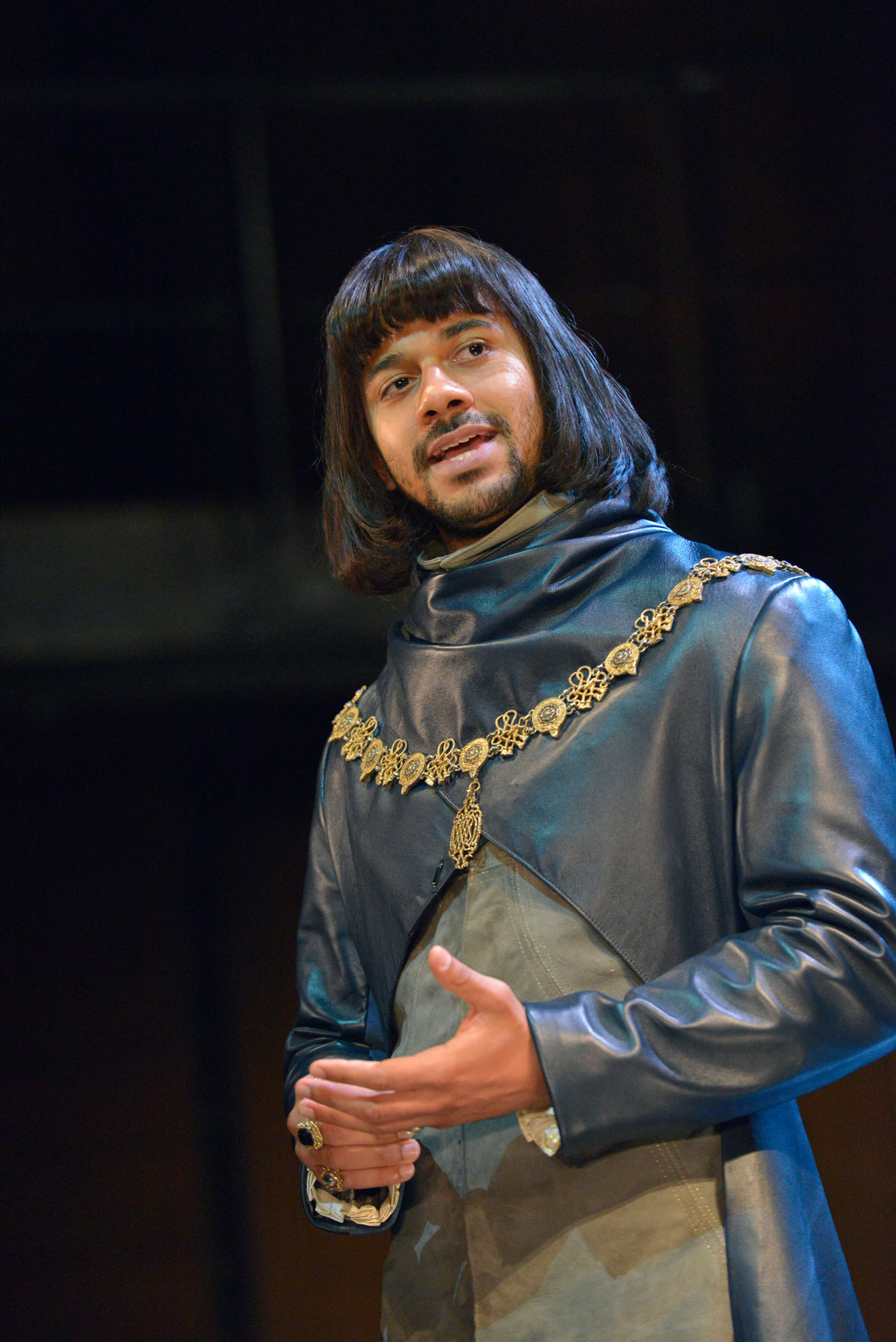 The Dauphin in the 2015 production of Henry V
