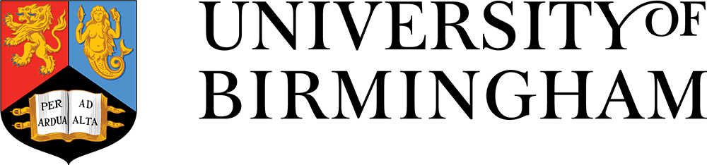 University of Birmingham logo and crest