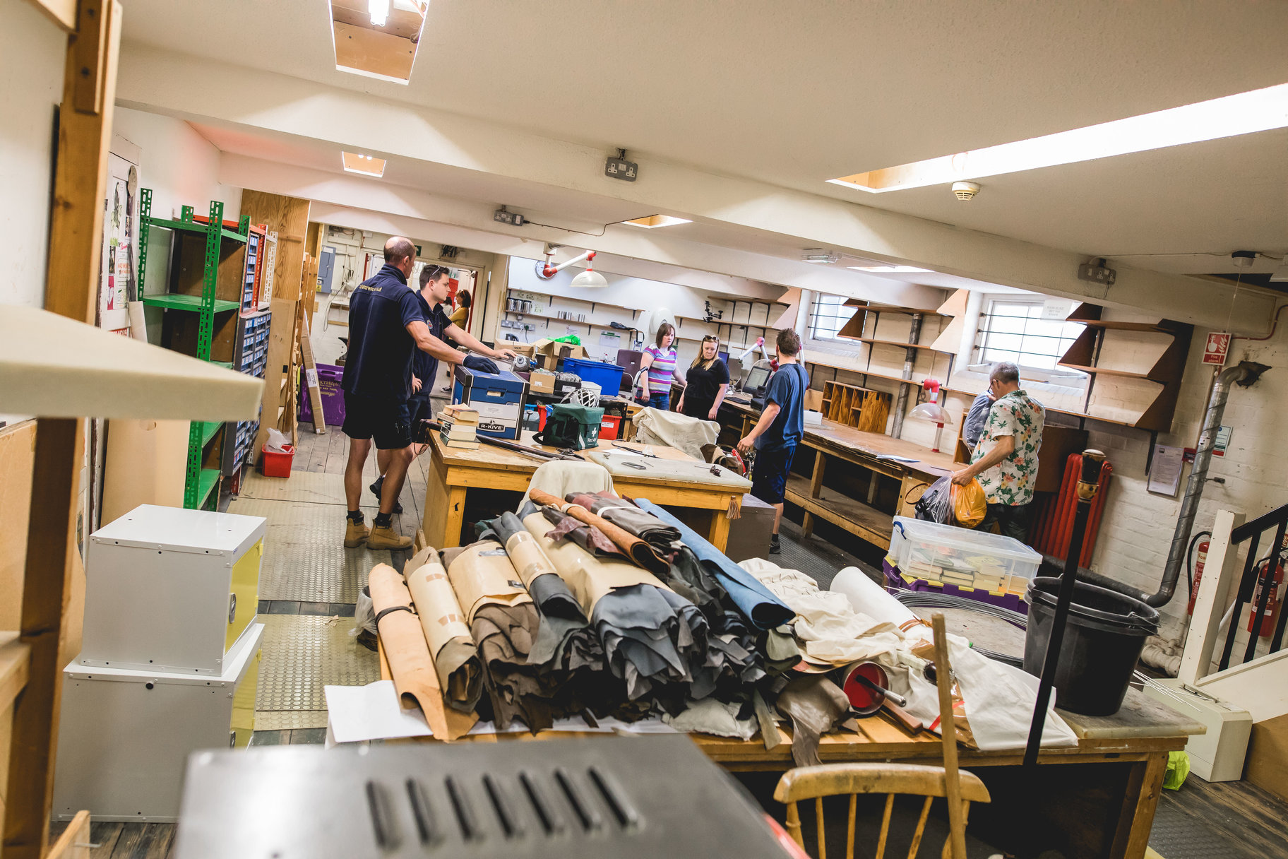 Costume workshop redevelopment_ last items leaving Waterside workshops_ May 2018_2018_Photo by Sam Allard _c_ RSC_250182