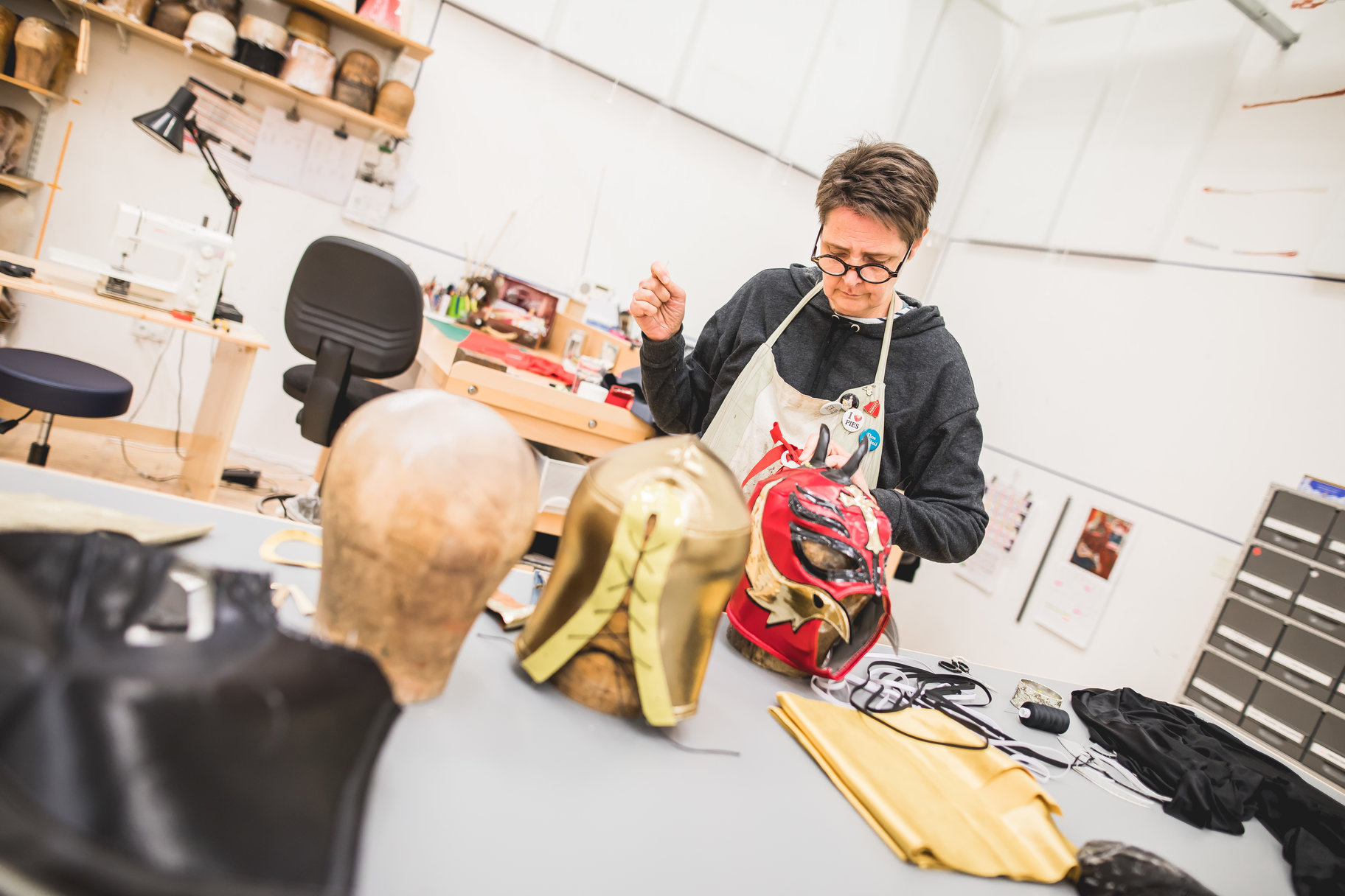 Costume workshop redevelopment_ last items leaving Waterside workshops_ May 2018_2018_Photo by Sam Allard _c_ RSC_250258