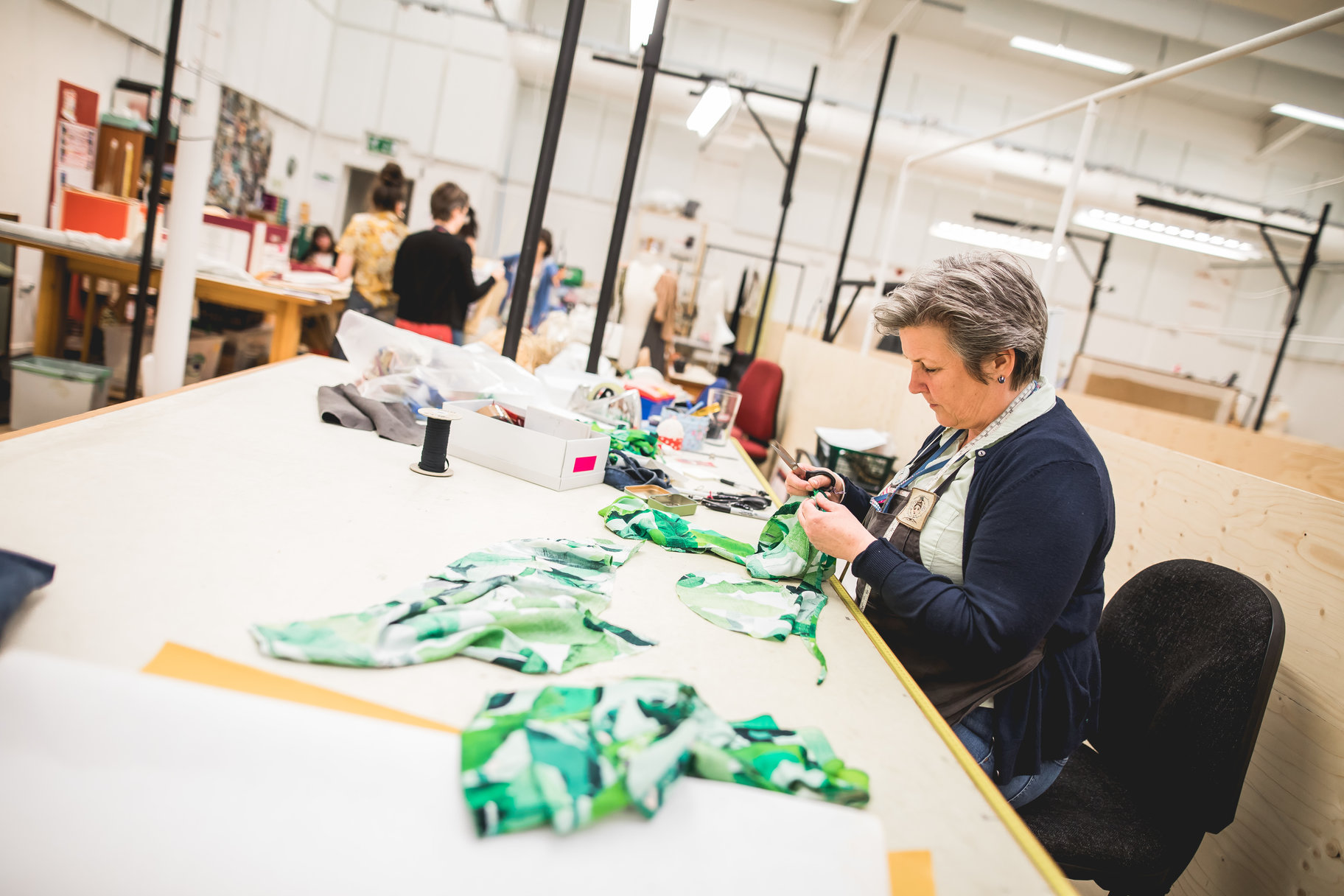 Costume workshop redevelopment_ last items leaving Waterside workshops_ May 2018_2018_Photo by Sam Allard _c_ RSC_250261