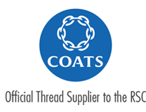 COATS Official Thread Supplier to the RSC