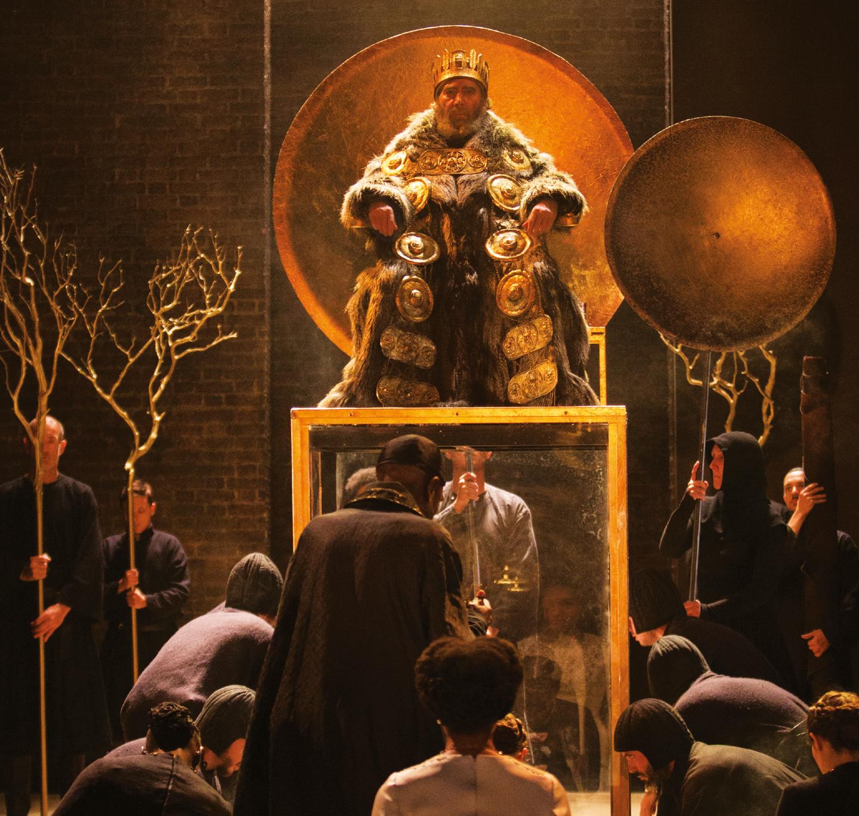 Antony Sher as King Lear